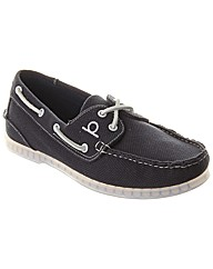 Wells Canvas Mens Boat Shoe