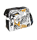 Dunlop comic print despatch bag