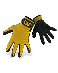 Caterpillar Nitrile Coated Gloves Large