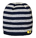 Caterpillar Striped Knitted Cap