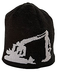 Caterpillar Tractor Knit Cap