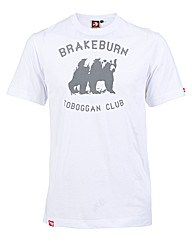Mens White Toboggan Club Tee
