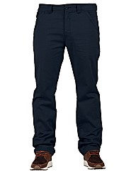 Mens Navy Creech Chinos