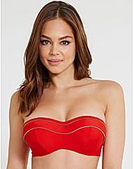 Britt Underwired Bandeau Bikini Top