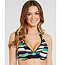 Sorrento Stripe Non Padded UW Halter Top