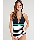 Tuscany Stripe Tummy Control Swimsuit