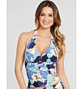Lucia Soft Cup Halter Tankini Top