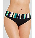 Sorrento Stripe Fold Bikini Brief