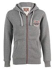 Brakeburn Grey Crossed Oars Hoody
