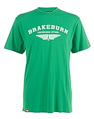 Mens Green College Tee