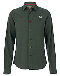 Mens Green Burnham Overshirt