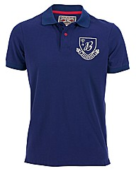 Mens Blue Shield Polo