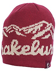 Mens Burgundy Mountain Beanie