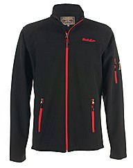 Mens Black Newton Softshell Jacket