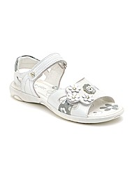 Start-rite Bellini White Fit F Sandal