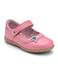 Start-rite Ella Pink Leather Fit F Shoes