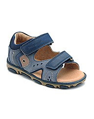 Start-rite Genoa Navy Fit F Sandal