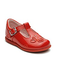 Start-rite Pixie Red Patent Fit F Shoes