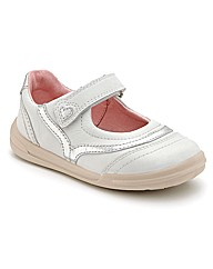 Start-rite Flexy-soft White Fit F Shoes