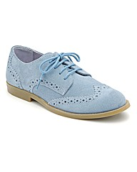 Start-rite Burford Light Blue Fit F Shoe
