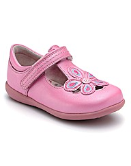 Start-rite April Bright Pink Fit F Shoes