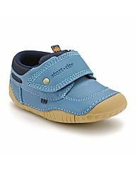 Start-rite Poole Blu Leather Fit G Shoes