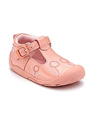Start-rite Ready Pink Patent Fit G Shoes