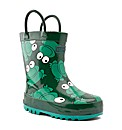 Start-rite Froggie Green Fit F Wellies