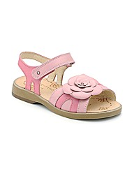 Start-rite Ava Pink Leather Fit F Sandal