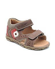 Start-rite Genoa Brown Fit F Sandal