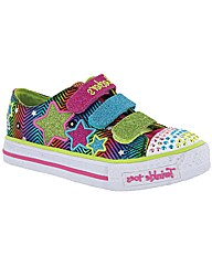 Skechers SK10249 Girls Touch Fastening