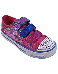 Girls Skechers Twinkle Toes Triple Time