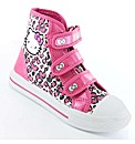 Hello Kitty Peony Hi Top Canvas