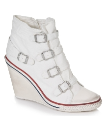 Ash Astwist White Wedge