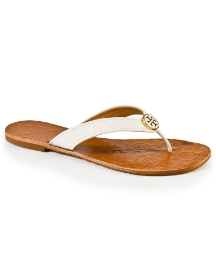 Tory Burch Thora White Toe Post