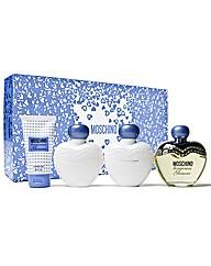 Moschino Toujours Glamour 4pc Edt Set