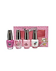 Pink Cookie 4 X15ml Nail Varnish