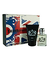 Cool Brit Edt+100ml All over Shampoo Set
