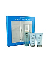 Sparkling White Diamonds 3 pc Gift Set