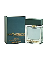 D&G The One Gentleman 30ml EDT