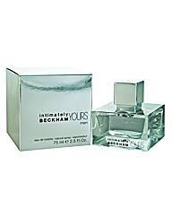 Beckham Intimately Yours Men 75ml Edt