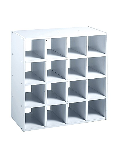 16 cube storage unit j d williams. Black Bedroom Furniture Sets. Home Design Ideas