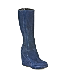 Daniel Finn Knee Navy Boot