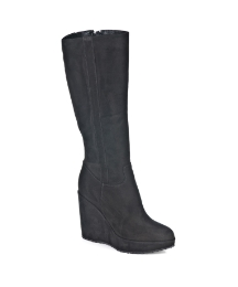 Daniel Finn Knee Black Boot