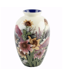 Old Tupton Ware Summer Bouquet Vase 8