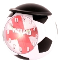 Football Shaped England Alarm Clock