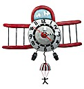 Allen Designs Airplane Jumper Clock