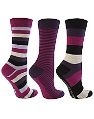 6 Pk Jacquard True Socks - Multi Colour