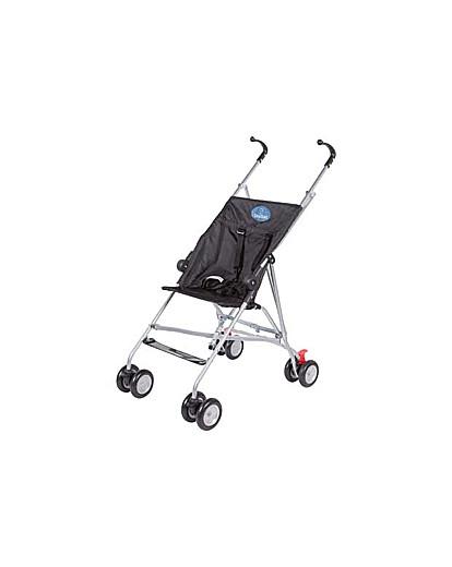 Image of BabyStart Black 4 Wheeler Pushchair.