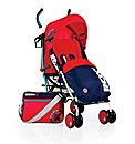 Koochi Speedstar Stroller-Spectrum Red